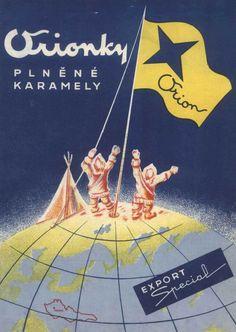 Zdenek Rykr: Obaly čokolády a bonbonů Orion, 20. a 30. léta, papír… Movies, Movie Posters, Candy, Films, Film Poster, Cinema, Movie, Film, Movie Quotes