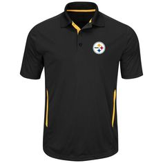 pretty nice ca7a4 fb59f Pittsburgh Steelers Field Classic Short Sleeve Polo - Extended Sizing