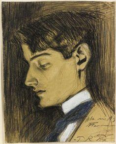 Pablo Picasso, Portrait d'Ángel Fernández de Soto.