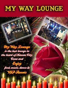 My Way ‪#‎Lounge‬ is the best lounge in Kansas City. We have a living room, ‪#‎bar‬ counter, ‪#‎dance‬ floor, and some of the best ‪#‎food‬ in Kansas City! Come and Enjoy #food, ‪#‎music‬ and #dance all within a warm, welcoming, and upscale environment.