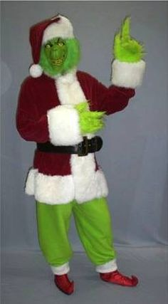 The grinch makeup tutorial a christmas diy pinterest grinch how to make a grinch costume google search grinch costumesdiy solutioingenieria Image collections