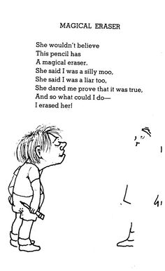 219 Best Shel Silverstein Images Funny Poems Poems Beautiful Words