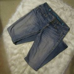 """Sang Real Jeans Size: 29 Only the chosen. Sang Real jeans. Cute Jeans...boot cut...A little fraying at the bottom of jeans as shown in picture #4. Size: 29 Inseam: 32.5"""" Other than the fraying, in good condition! NO low ballers!!! Sang Real Pants"""