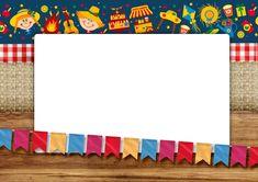 Convite Festa Julina Border Templates, Mexican Party, Border Design, Classroom Themes, Envelope, Scrapbook, Wallpaper, Birthday, Frame