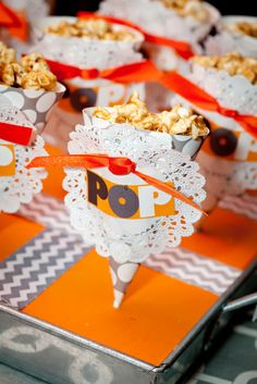 "Baby Shower ""POP""corn treats #babyshower #popcorn"