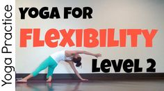 This level-2 Yoga for Flexibility practice is designed to stretch a lot of everything with some Vinyasa yoga to warm up, followed by basic hatha yoga poses and longer holding yin-style deep releases. Even the more advanced poses have modifications offered in screen, so you can develop your flexibility with regular practice.
