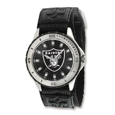 Mens NFL Oakland Raiders Veteran Watch Jewelry Adviser Nfl Watches. $28.00