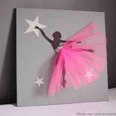 Cadre danseuse tutu fuchsia Plus Diy And Crafts, Crafts For Kids, Arts And Crafts, Paper Crafts, Diy Paper, Craft Projects, Projects To Try, Art Diy, Ideias Diy