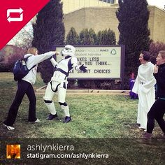 """Fought a storm trooper with my bare hands today. You could say I'm ready for GalaxE-Days."" #galaxedays"