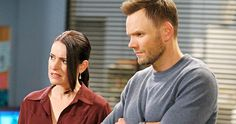 First 'Community' Season 6 Photos Reveal New Cast Members -- 'Community' stars Joel McHale and Jim Rash are seen alongside new cast members Paget Brewster and Keith David in Season 6 images. -- http://www.tvweb.com/news/community-season-6-photos-cast