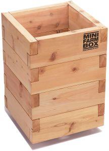 Mini farm box - tool free raised beds.