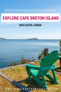 Cape Breton is a beautiful island in Canada's Atlantic province Nova Scotia, and it offers the world's most beautiful road trips with breathtaking seascapes, stunning hiking trails, delicious seafood, Cape Breton Highlands National Park that is the most enchanted place in Canada, and so much more.