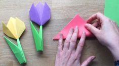 60 Tvoríme s deťmi ideas in 2021 | remeslá pre deti, remeslá, kreatívne Origami, Diy Tutorial, Triangle, Flowers, Handmade, Crafts, Art, Education, Spring