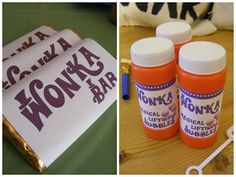 Bubbles -Vintage Follie: Charlie and the Chocolate Factory Party Wonka Chocolate, Chocolate Party, Charlie And The Chocolate Factory Crafts, Willy Wonka Halloween, Halloween 2020, Book Club Food, Sweet Games, Roald Dahl, Childrens Party