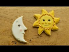 Let the Sunshine In - a Handpainted Sun Cookie - YouTube