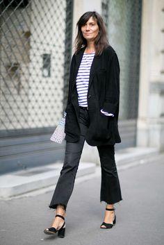 'Vogue' Paris Editor in Chief Emmanuelle Alt. Photo: Imaxtree.