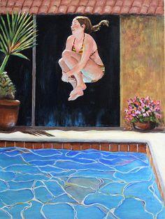"""Jump"", prints available on Fine Art America."