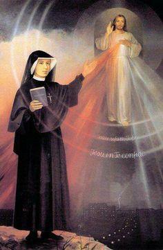 Tu misericordia es eterna... Gracias Sta Faustina por tan bella devoción