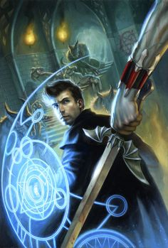 Dresden Files by ~DSillustration on deviantART
