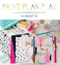 I am sooo thrilled to annonce I am a contributor  to  Ashley Goldberg's new class  from Studio Calico , called P A I N T . P L A N . P L A...