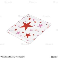 Shop Valentine's Stars Glass Coaster created by Personalize it with photos & text or purchase as is! Glass Coasters, Valentine Decorations, Star Patterns, Print Design, Valentines, Stars, Prints, Artwork, Valentines Diy