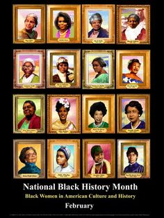 Women of Black History<3 As we move into the 29 days of Black History Month (yes we get an extra day this year) What does it mean to you? Is it a time of reflection? is it a time for us to look how far we've come and/or how far we're going backwards? Do you think Dr. King would be proud of us right about now? While researching what I was going to write today, I found this article on Yahoo News, if you do nothing else today, you've got to take the time out to read this.