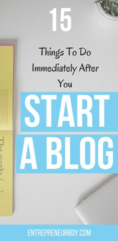 I thought all I had to do was start my blog and that was it, but I couldn't have been more wrong! I am now well on my way to looking like a pro blogger after following the tips from this blog post. Starting my blog was just the beginning and following these steps has put me ahead of most newbie bloggers and well on my way to making money online.