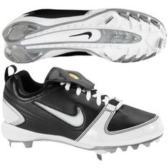 Size 5 Nike Womens Unify Keystone Softball Cleat Black//Pink