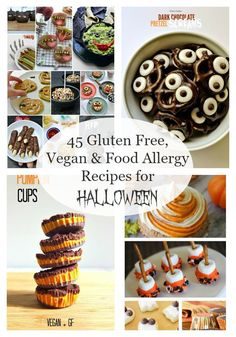 45 Gluten Free, Vegan & Food Allergy Recipes for Halloween by coconutheadsurvivalguide.com