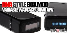 DNA Style 30w Box Mod $59.04 | GOTSMOK.COM Electronic Cigarette, Vaping, Dna, Good Things, Style, Swag, Outfits, Vape, Electronic Cigarettes
