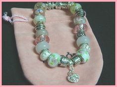 Super Sale!! Reg. $40.00....enjoy the savings! Beads and bracelet imported from Thailand, but crafted in the USA. Lot cc-16 Contact me for my previous logo inspired style jewelry  Stunning European P