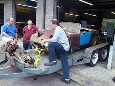 "John's 1959 Austin-Healey Bugeye Sprite ""Carl Edwards Car"" - AutoShrine Registry"