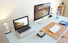 idee decoration bureau macbook