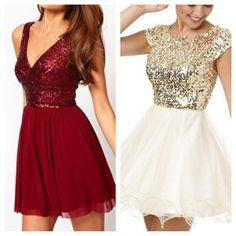 I might go to winter formal, just so I can get one of these dresses.