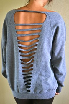 DIY your own backless looks I'd wear a tank