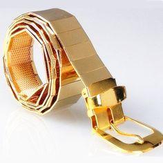 New Luxury Designer Belts Men High Quality Cool  Unisex Fashion Alloy Belt Men Casual Belt Cinturones Hombre Ceinture Homme #Affiliate