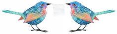 rainbow birdies