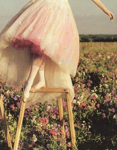 """Tales of The Unexpected"" for UK Vogue December 2008 photographed by Tim Walker"