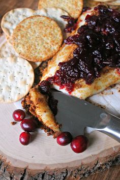 Check out these tips to easy entertaining and grab the recipe for this delicious gingerbread-crusted baked brie served with a cranberry sauce.