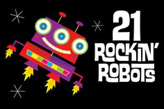 21 Rockin' Robots - Illustrations - 1