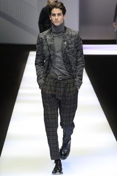 Emporio Armani Fall 2017 Menswear Collection Photos - Vogue
