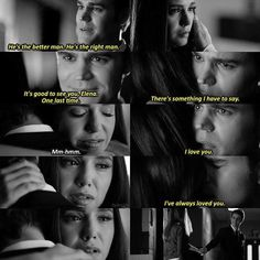 "#TVD 8x16 ""I Was Feeling Epic"" - Elena and Stefan"