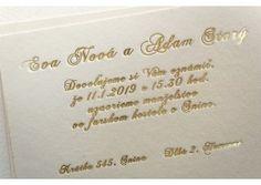 Svadobné oznámenie - SO226