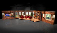 talk show set design - Google Search