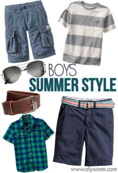 boys summer style