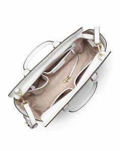 33387b3397b65 Michael Kors Große Selma Top-Zip Schulranzen Weiß online kaufen 0  bags  jewellery