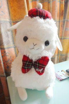 Arpakasso Alpacasso Alpaca Big Plush white School Boy AKB version (33cm) | eBay