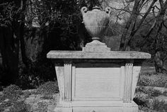 Urn on Mausoleum, churchyard, Hendon, London NW4, 15th April 2014