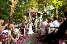 Nashville Garden Wedding Venue   Summer Ceremony   Gazebo - Photo: Brandon Chesbro