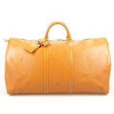 Glück & Glanz - Vintage Louis Vuitton & MCM - 100% Original I Louis Vuitton Epi Keepall